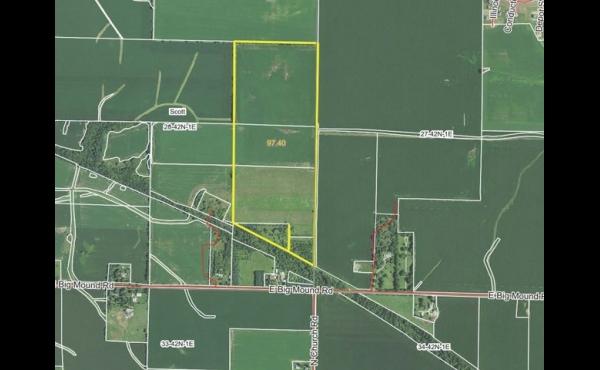 98 +/- Acres Just SW of Davis Junction